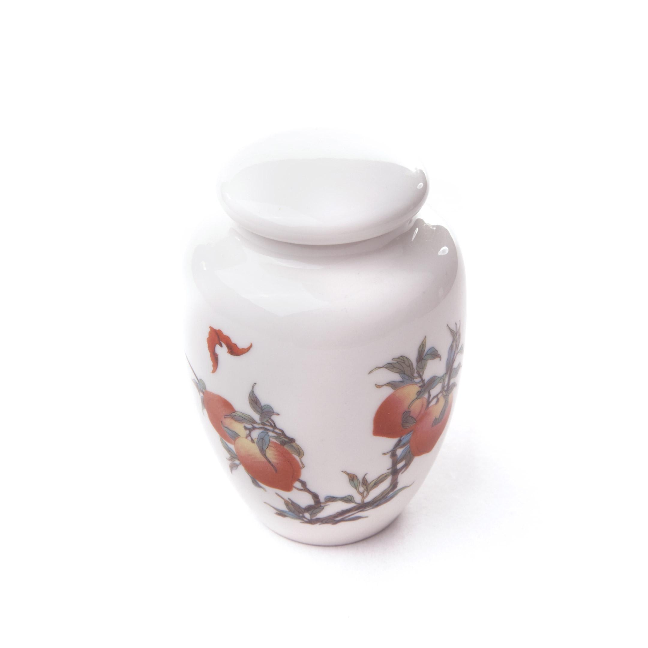 Dóza na čaj porcelánova