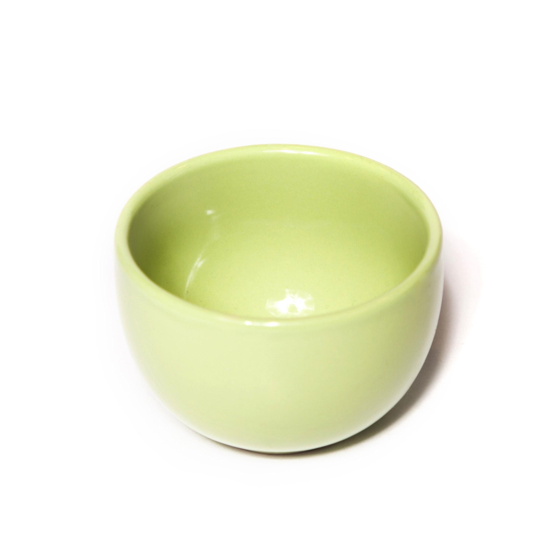 Miska porcelánová zelená