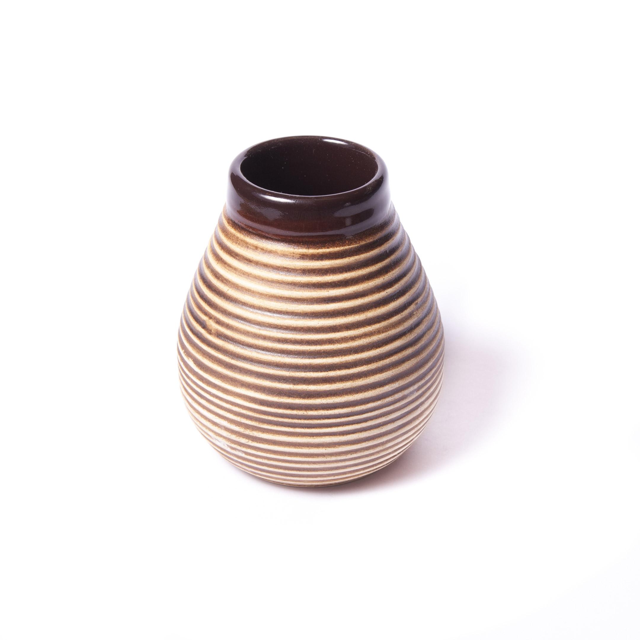 Kalabasa keramická hnedá