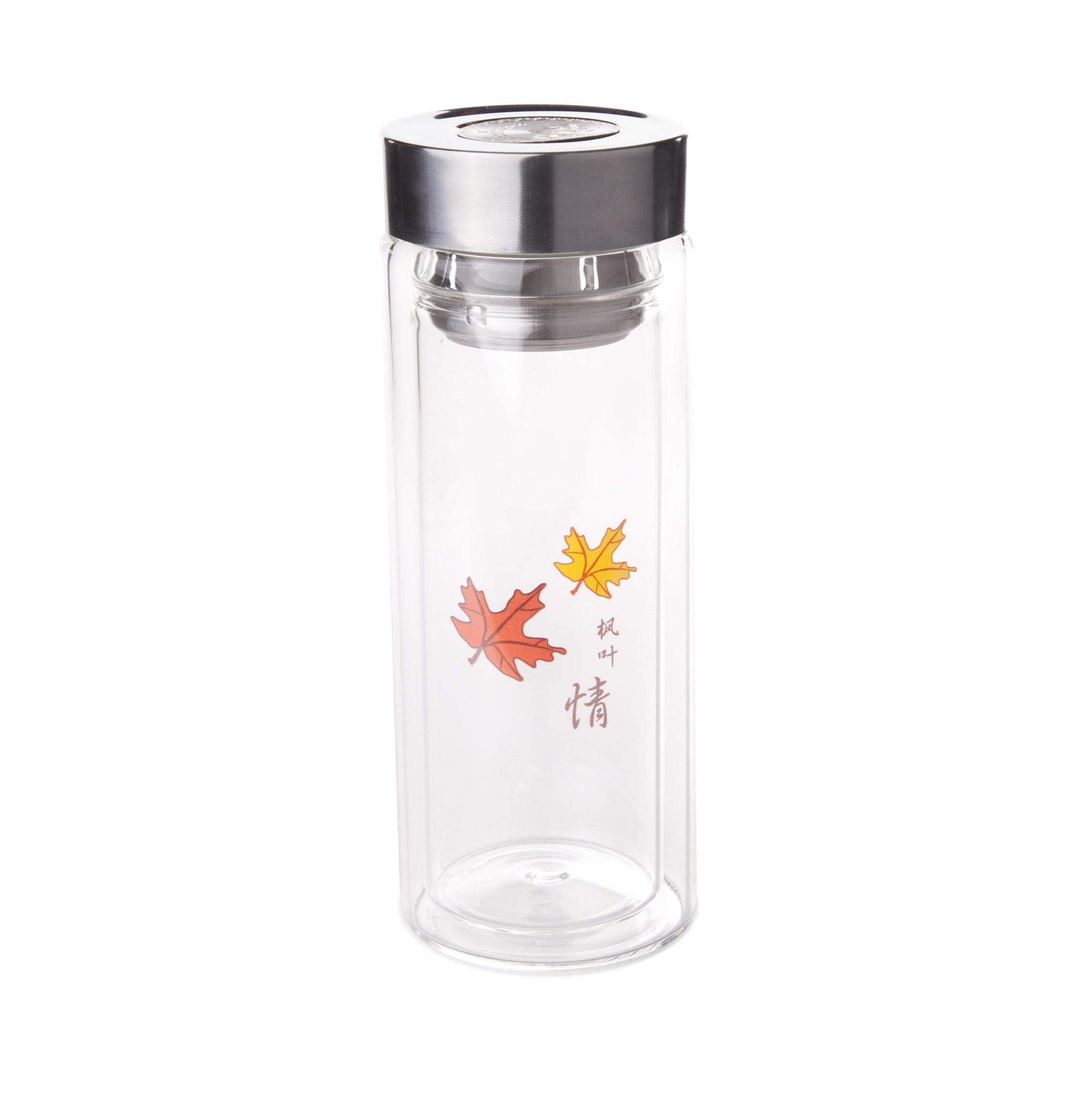 Zavarovačka na čaj sklenená - Javor
