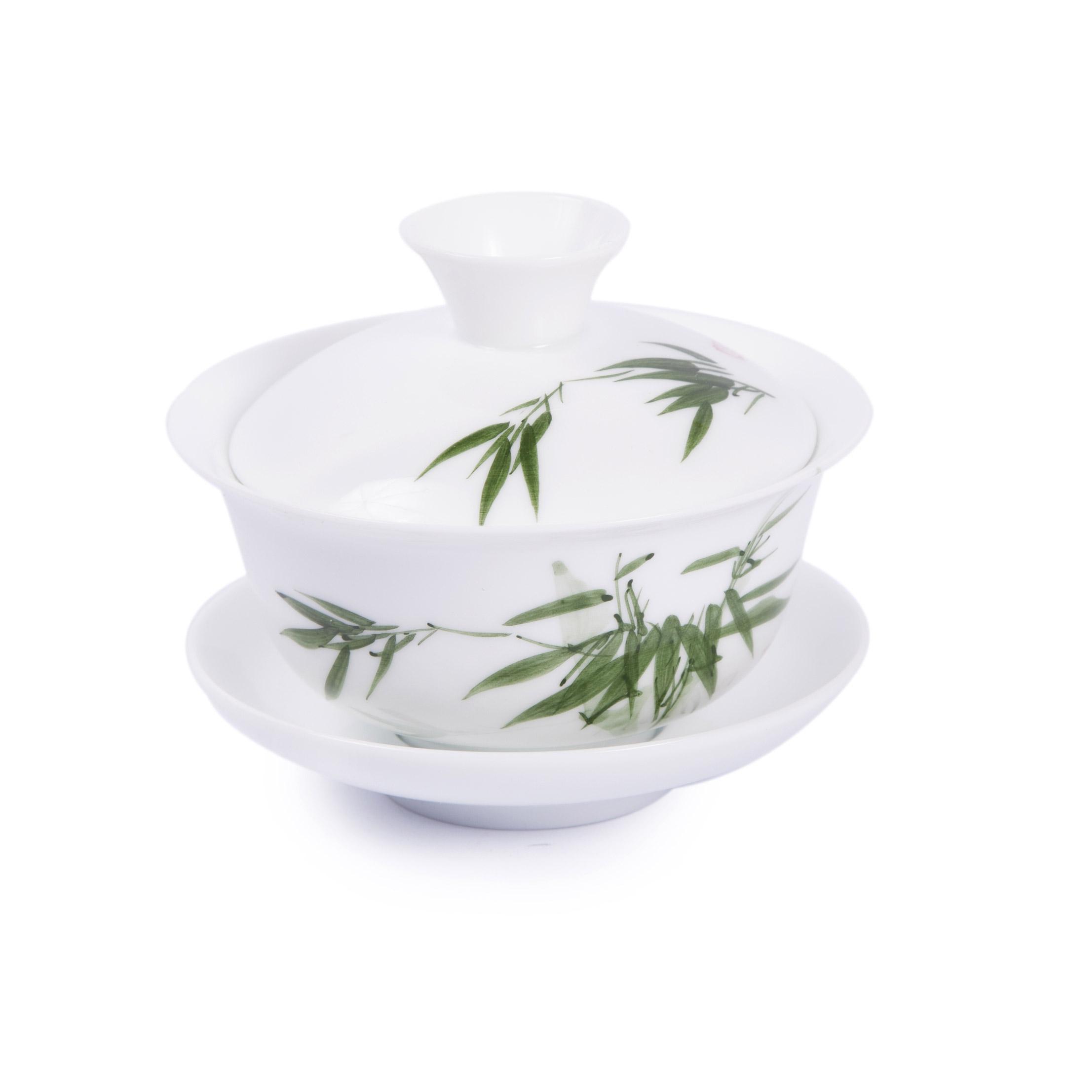 Zhong porcelánový biely bambus
