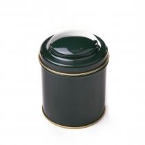Dóza na čaj gulatá - zelená