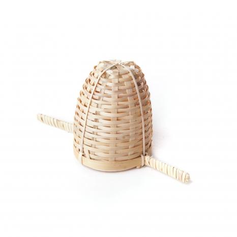 Bambusové sítko s dvoma rúčkami