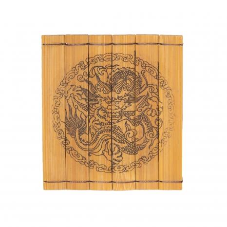 Podšálka bambusová ozdobná