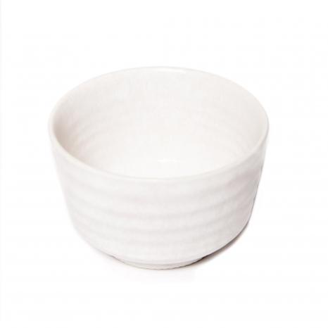 Chawan B/W - White