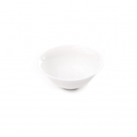 Porcelánová miska biela - drak
