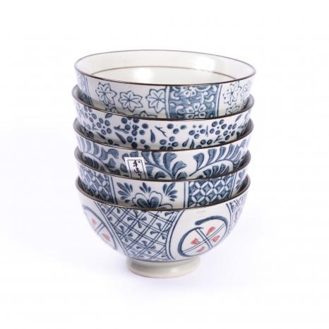 Korejská miska - modrá - SET
