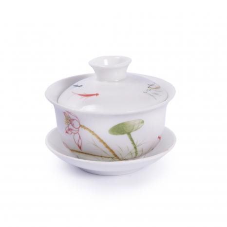 Zhong porcelánový biely lotos