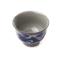 Porcelánová miska modrý lotos - stredná