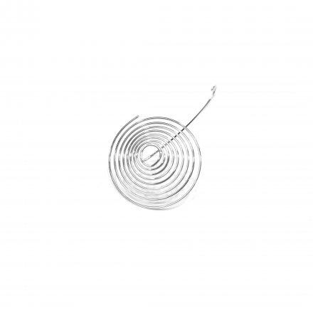 Konvička sklenená 0,2 l - pružinka / sitko