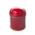 Dóza na čaj gulatá - červená