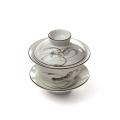 Porcelánový zhong zelený - rak