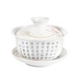 Zhong porcelánový biely lotos o